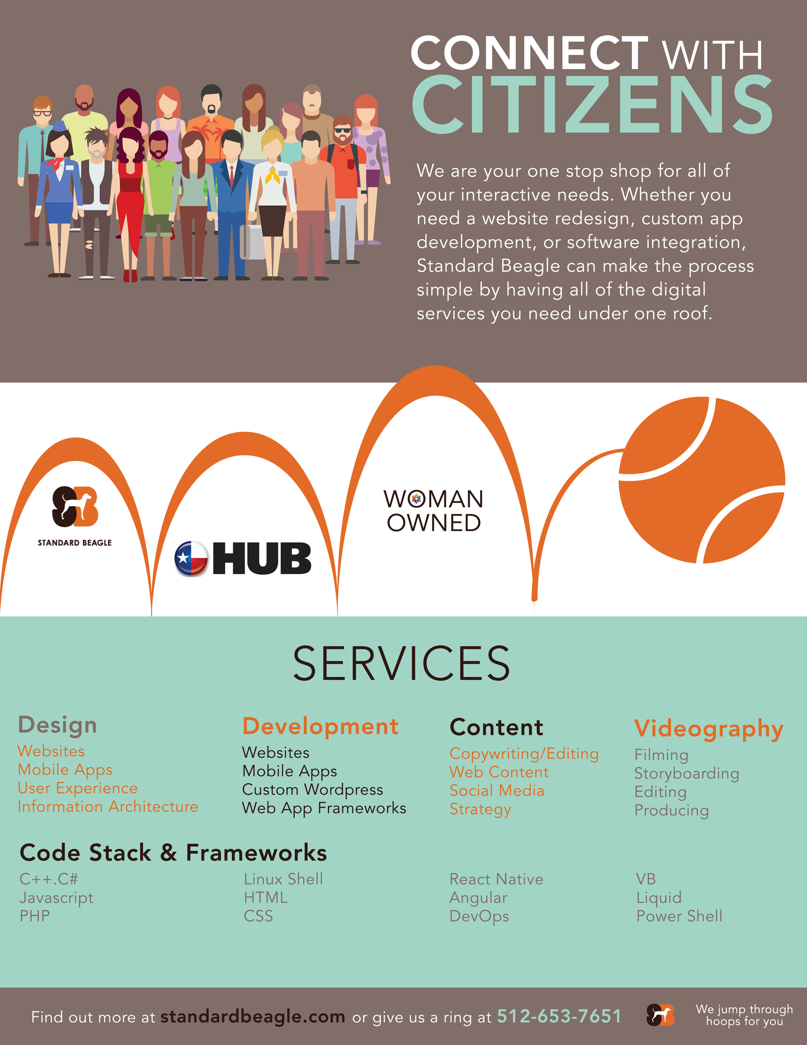 HUB Flyer - Marketing Material