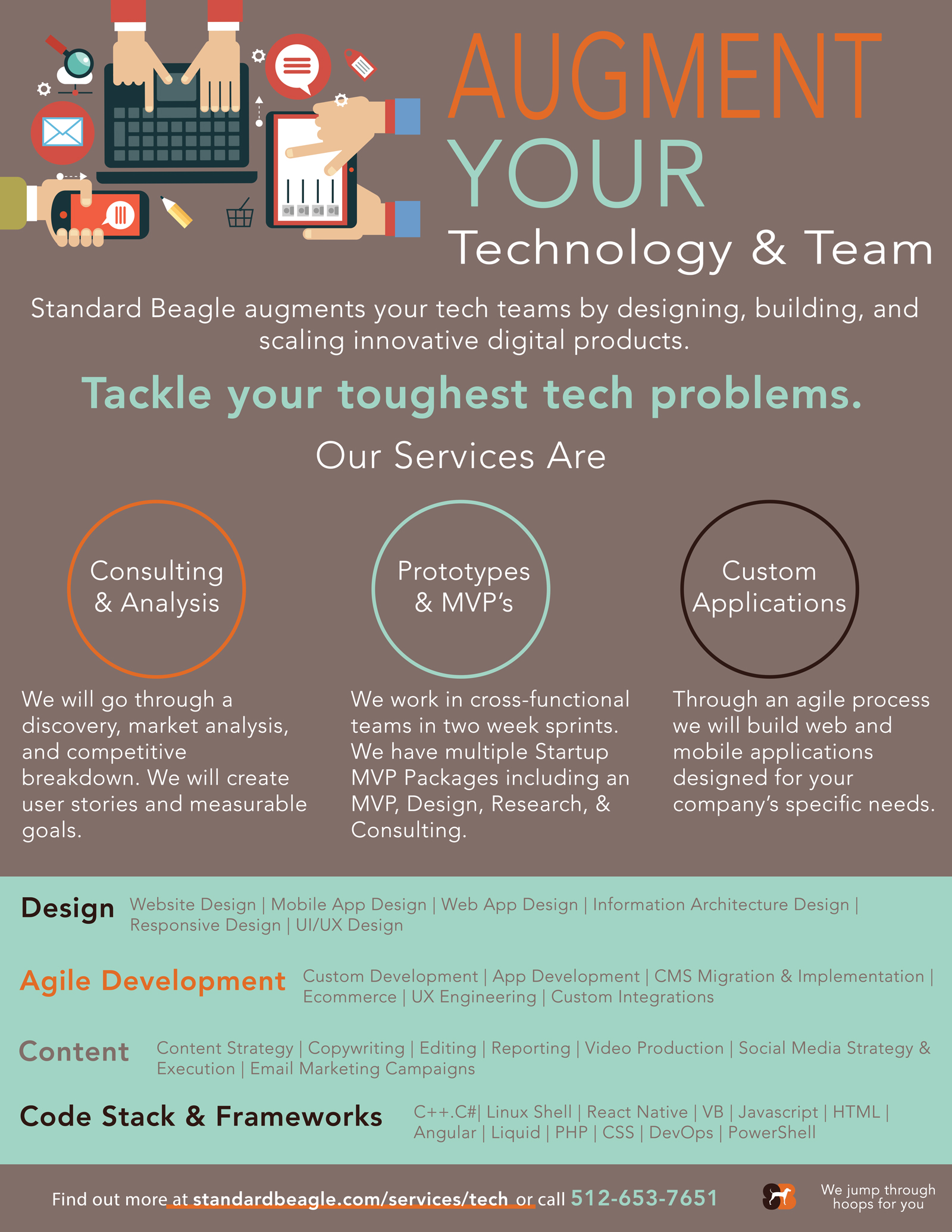 tech-startup-flyer - marketing material