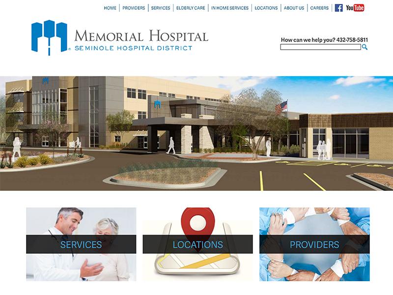 Hospital Website Redesign