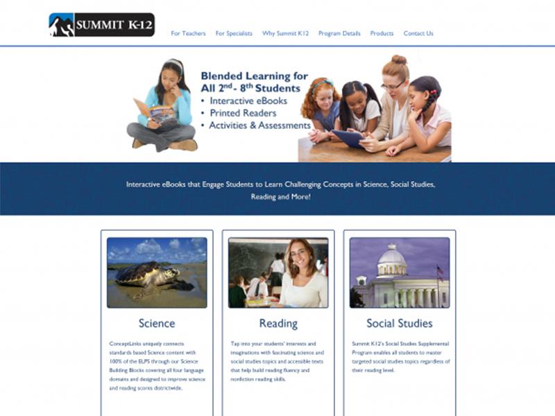 Educational Materials Provider Website Redesign