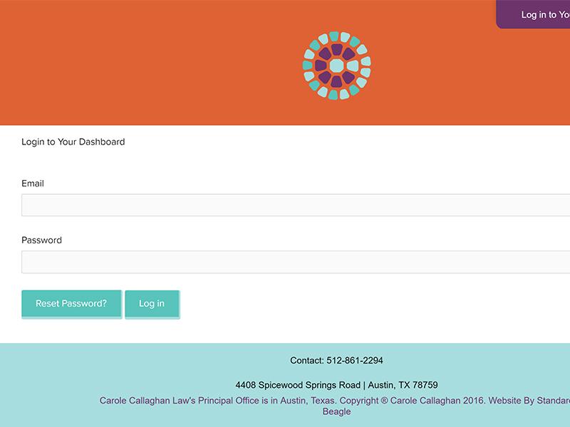CC Law Estate Online Estate Planning – UI + UX Design
