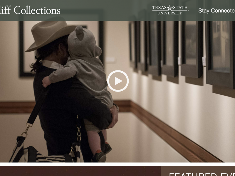The Wittliff Collections – Texas State University – Website Redesign